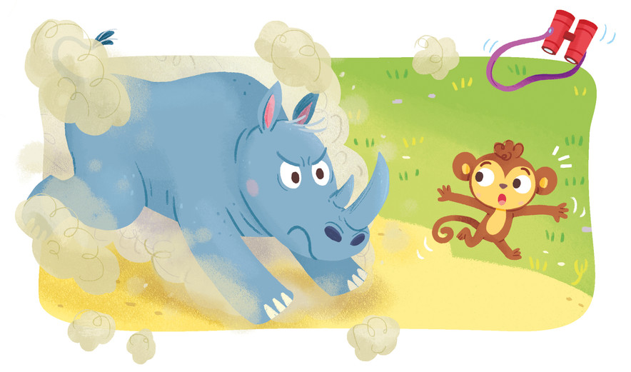 Gabriele Tafuni illustration kids animals