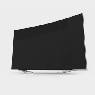 Curved UD TV