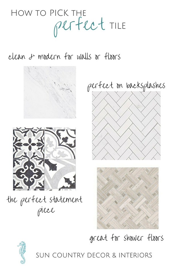 How to Pick the Perfect Tile