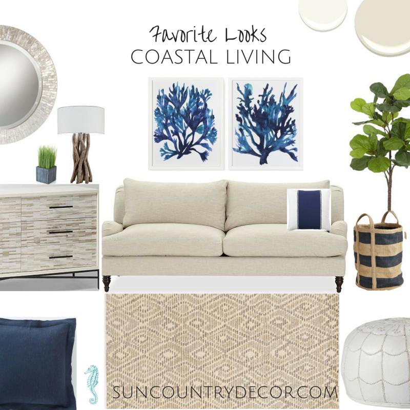 Favorite looks coastal living sun country decor interiors port charlotte fl interior design