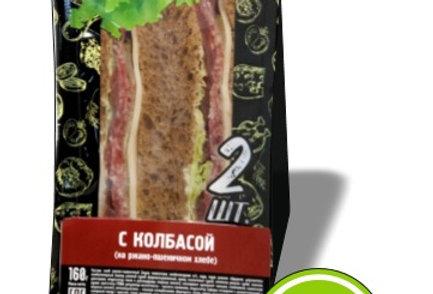 Сендвич с колбасой