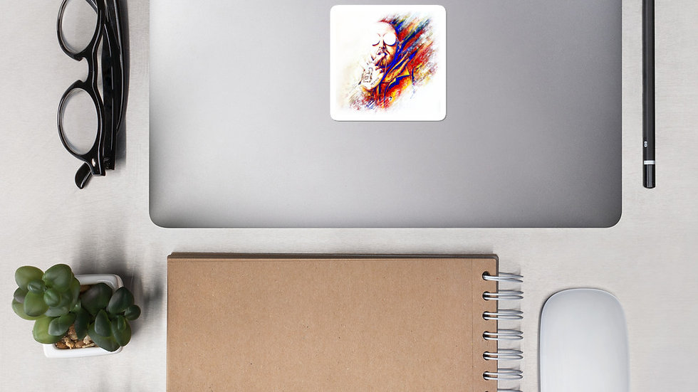 Mac Miller #1 Art Stickers