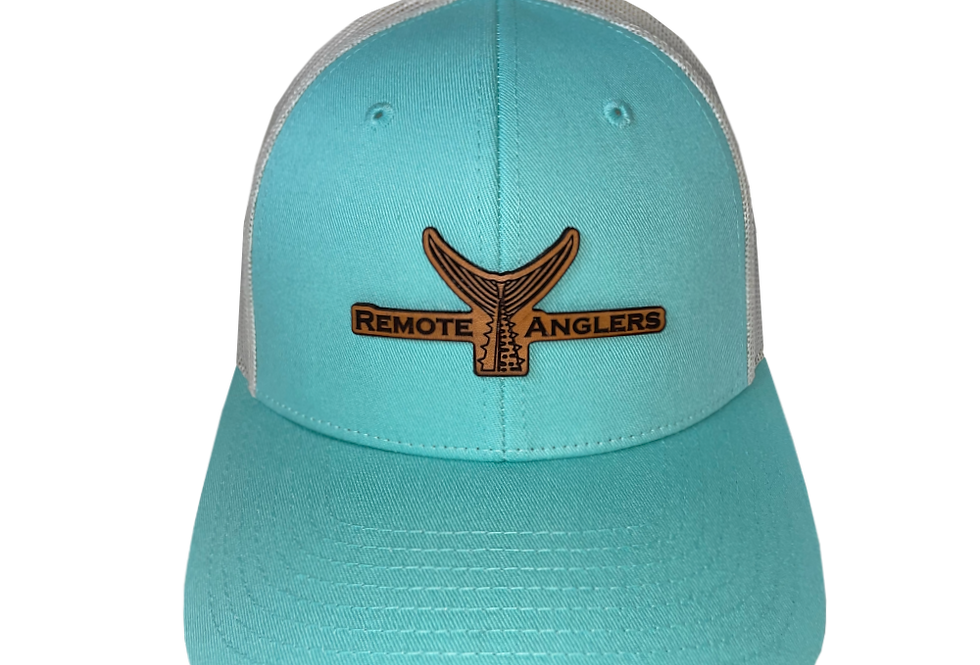 Classic Snapback (Sea Frost/Brown Leather)