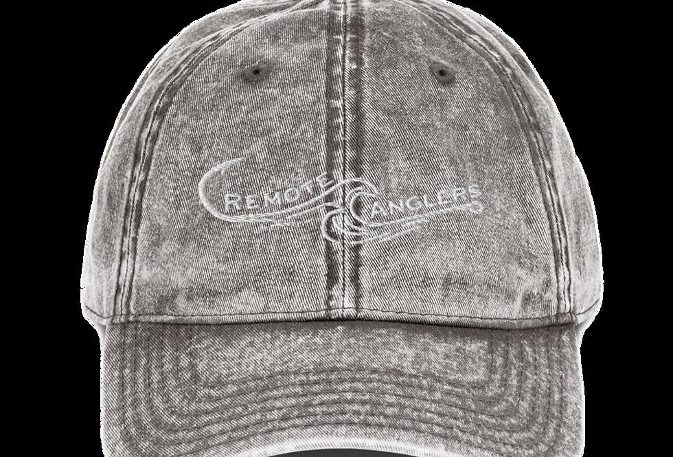 Vintage Cotton Twill Cap (Hook/Wave)