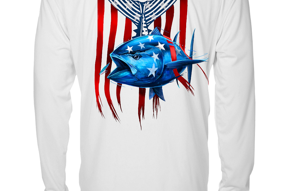 Patriot Series - Performance Long Sleeve (Bluefin)