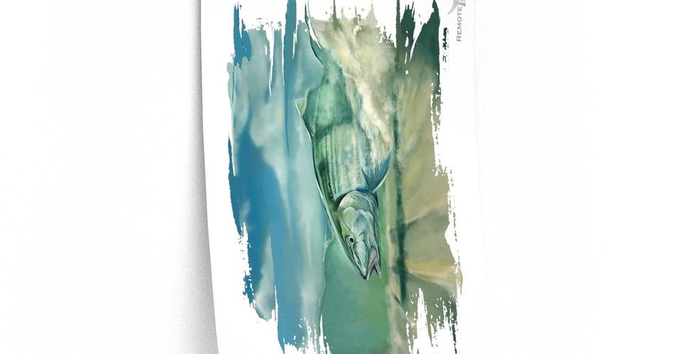 Premium Matte Poster - Artist Series (Bonefish)