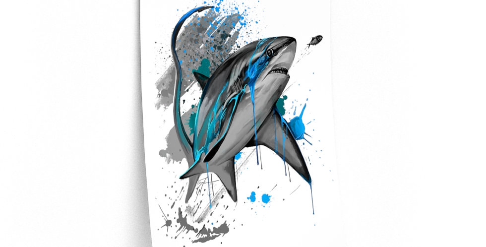 Premium Matte Poster - Drip Series (Thresher)
