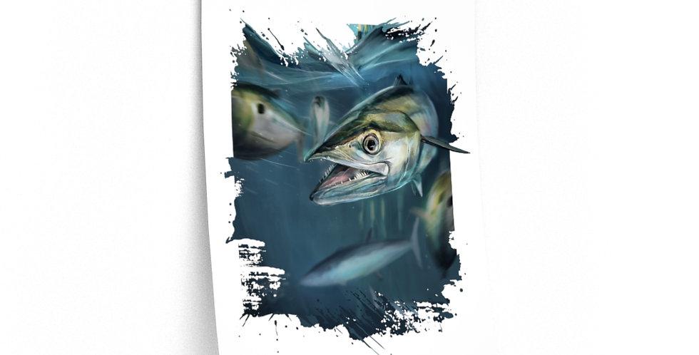 Premium Matte Poster - Artist Series (Kingfish)