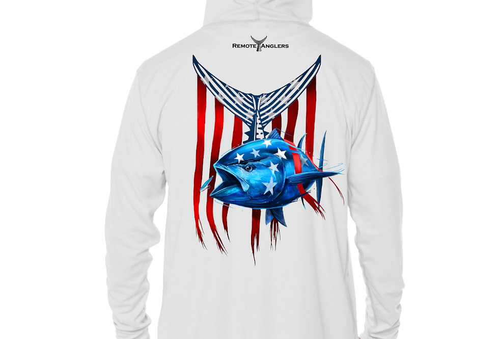 Patriot Series - Performance Solar Hoodie (Bluefin)