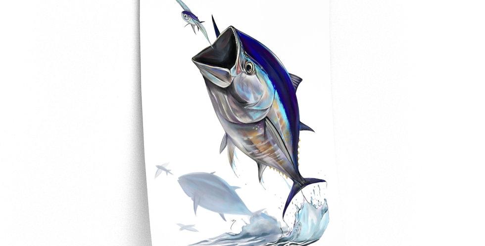 Premium Matte Poster - Artist Series (Bluefin)