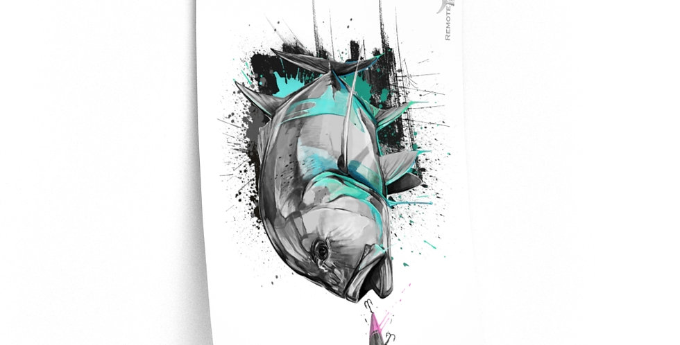 Premium Matte Poster - Drip Series (GT)