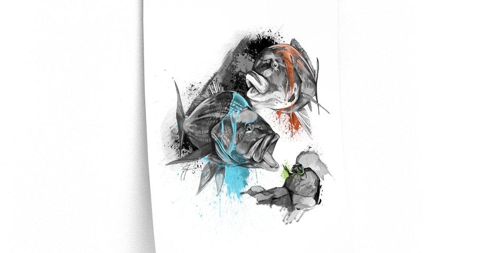 Premium Matte Poster - Drip Series (NE Bottom)