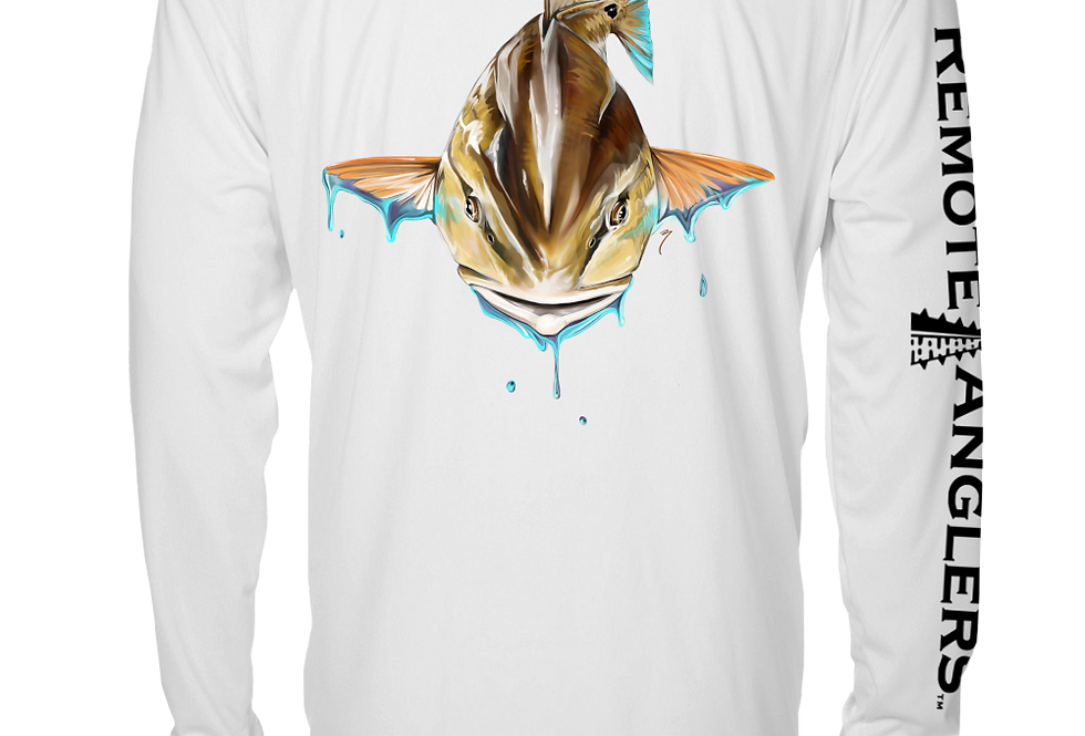 Artist Series - Performance Long Sleeve (Red Fish)