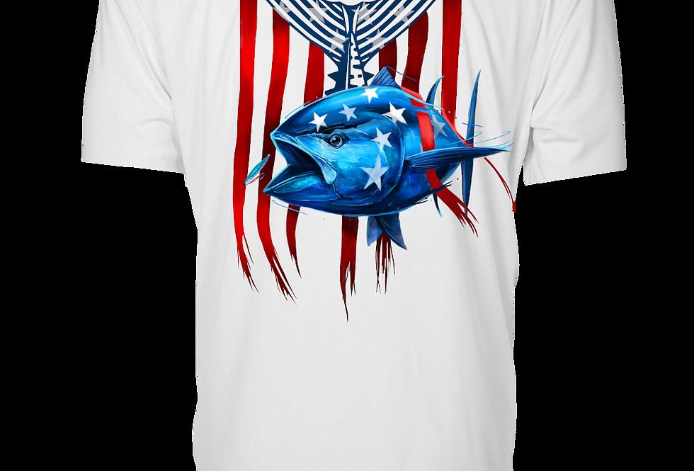 Patriot Series - Performance Short Sleeve (Bluefin)