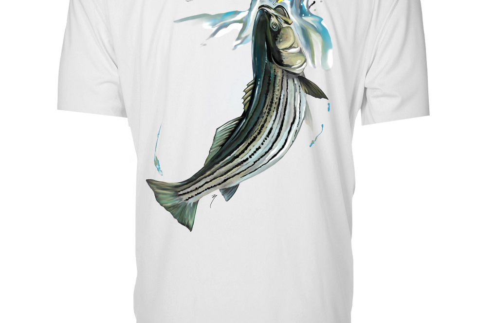 Artist Series - Performance Short Sleeve (Stripedbass)