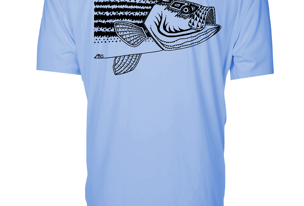 Classic Series - Performance Short Sleeve (Stripedbass)