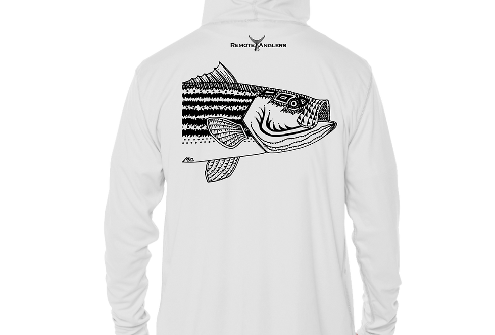 Classic Series - Performance Solar Hoodie (Stripedbass)