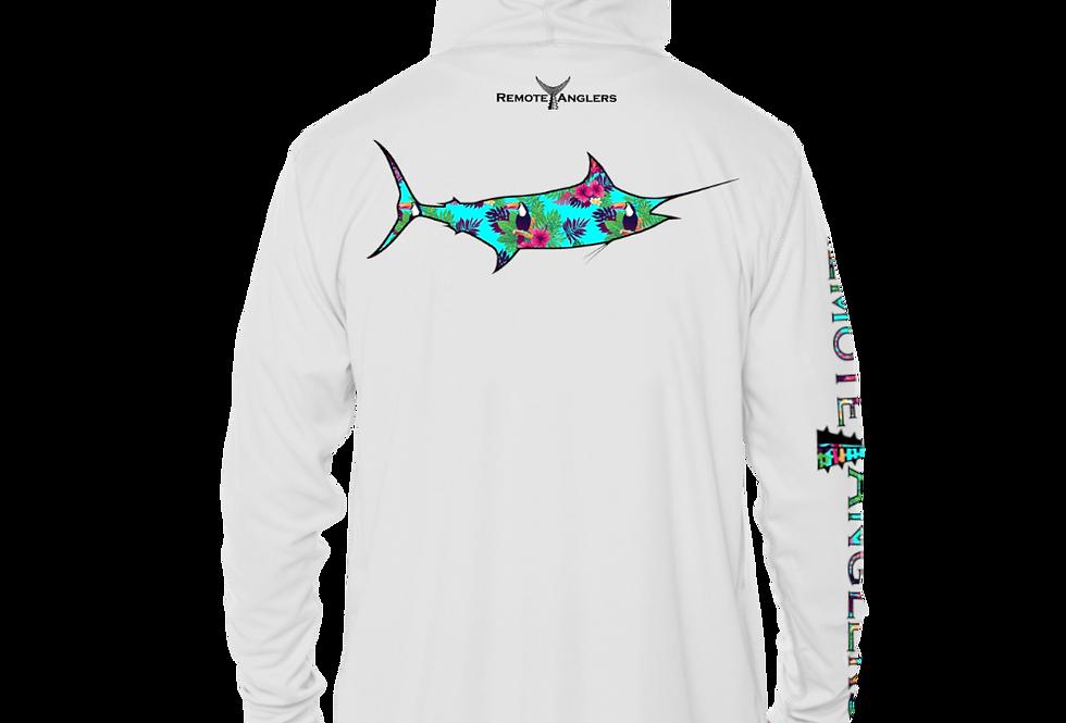 Tropics Series - Performance Solar Hoodie (Marlin)