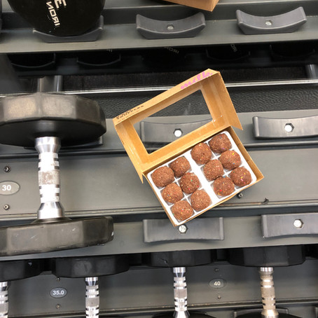 Chocolate B-Day Truffles