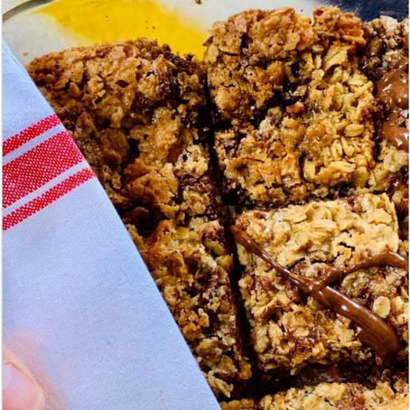 Bake Club: Oatmeal Cookie Bars