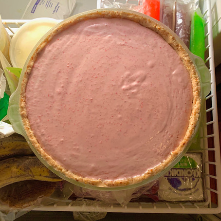 Bake Club Strawberry Ice Cream (No IC Maker needed!)