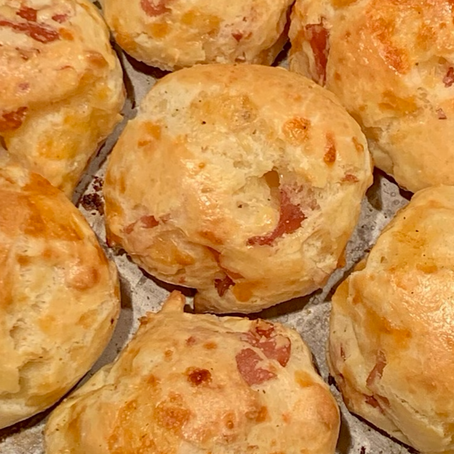 Bake Club Ham & Cheese Puffs (Gougeres)