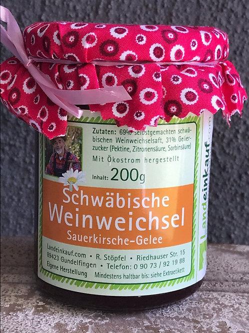 Landeinkauf Schwäbische Weinweichsel Gelee - 200 g