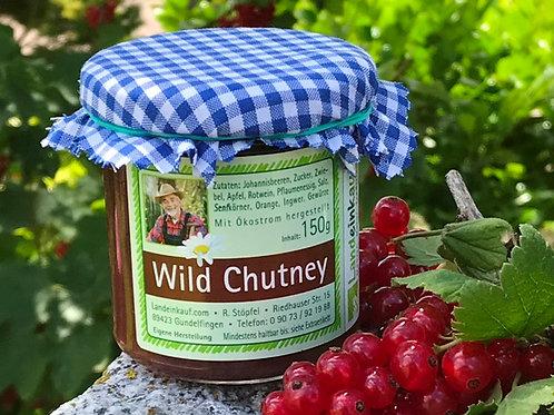 Landeinkauf Hausgemachtes Wild Chutney aus Johannisbeeren - 150 g