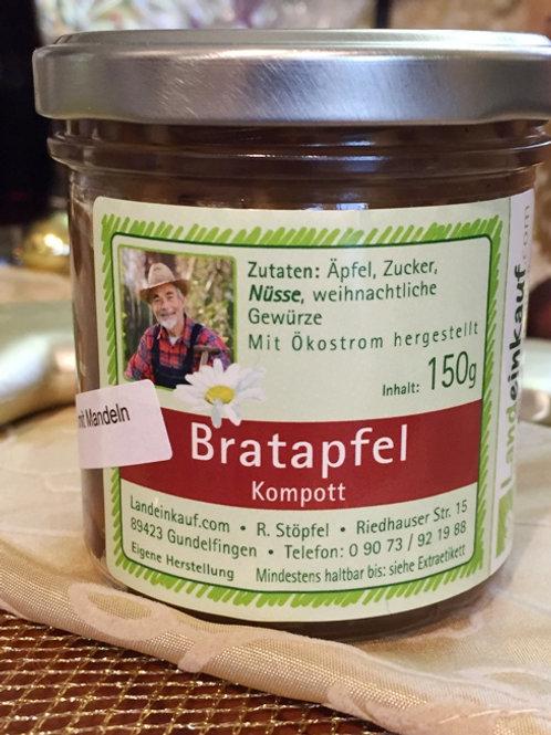 Apfel-Mandel nach Art Bratapfel - 150 g - Fruchtaufstrich