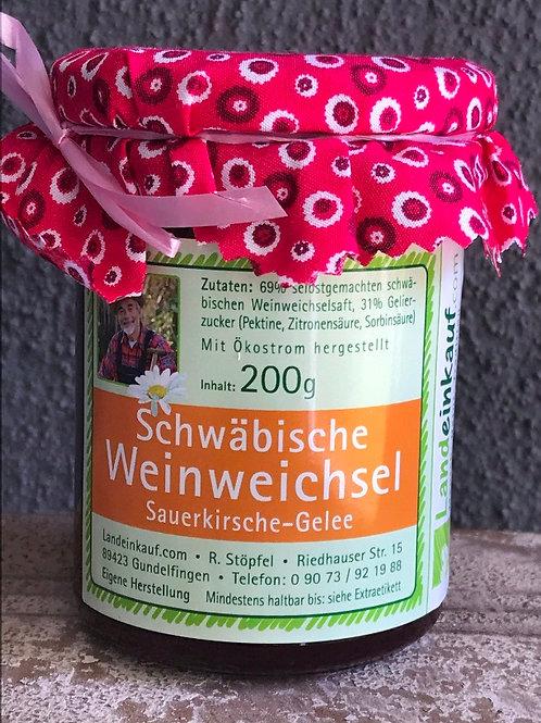 Schwäbische Weinweichsel Gelee - 200 g