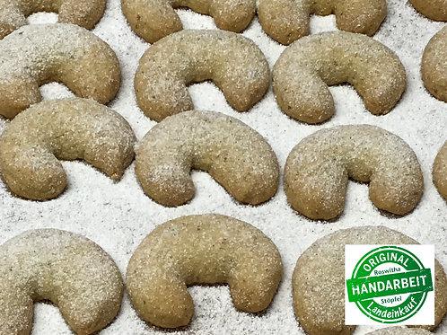 Landeinkauf Weihnachtsbäckerei - Vanillekipferl 100 g. - Kekse, Gebäck