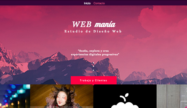 Agencias website templates – Estudio de diseño web