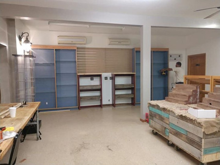 Moving to Dassel-A New Shop is Born!