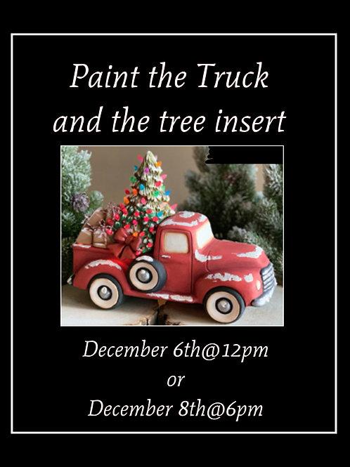 Truck and Tree Ceramic
