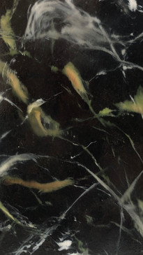 Black and Gold Marble | Close up