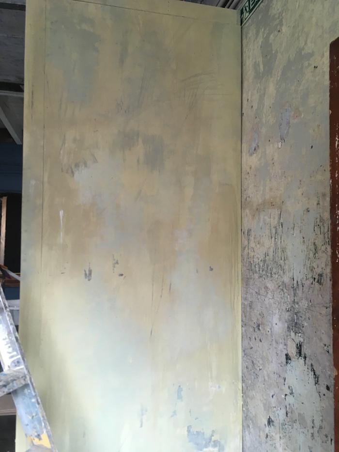 Wall paint texture effect