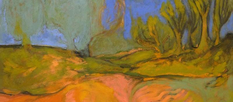 Shanti-om gorton, 110x90cm, oil on canva