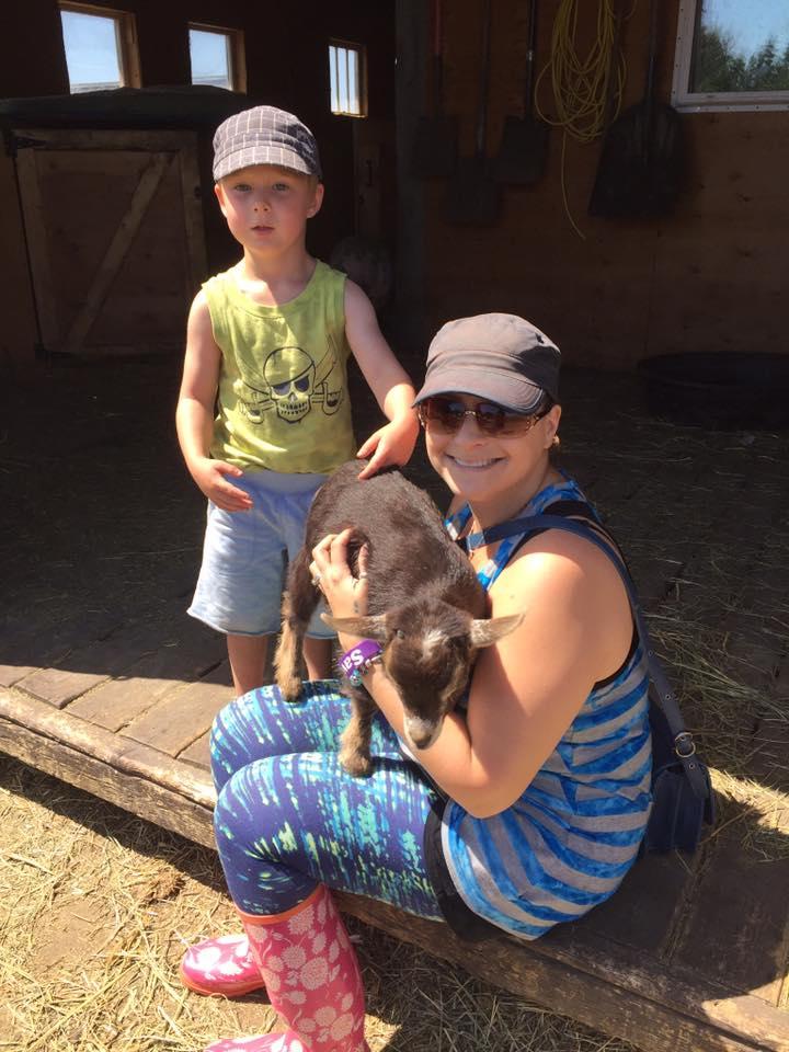 Alex, Stacie and baby Jam