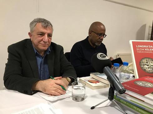Faruk Eskioglu Bizim'kiler Book Signing