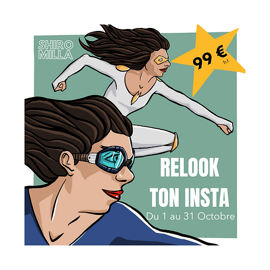 On relooke ton compte insta !
