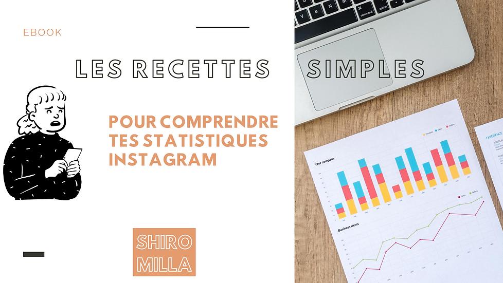 Les recettes simples pour comprendre les statistiques Instagram