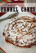 Funnel Cake Funnel fingers