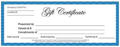 Gift certificate  Gifts Coupons