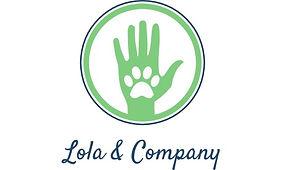 lola & company - pet care logo