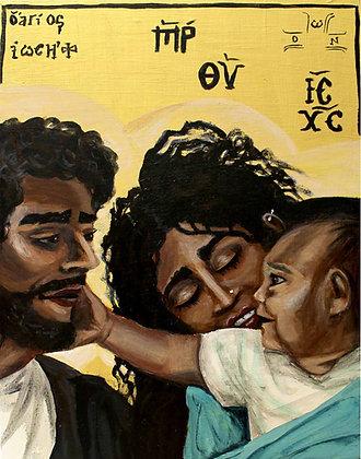 "Holy Family 8x10"" print"