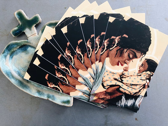 Madonna and Child Pack of 10 Prayer Cards