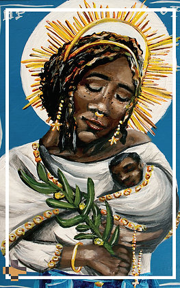 Our Lady of Peace Prayer Card