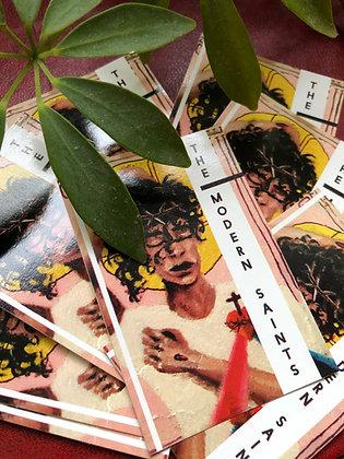 Divine Mercy Modern Saints Vinyl Sticker