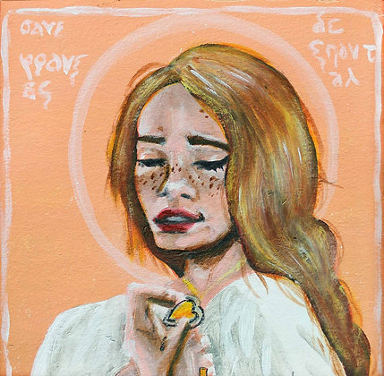 "St. Jane Frances de Chantal 5x7"" print"