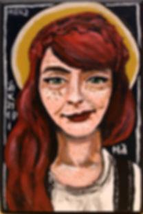 St. Catherine of Siena by Gracie Morbitzer